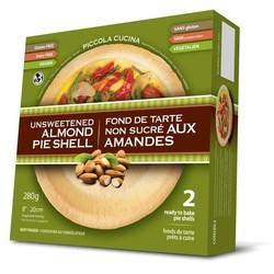 Unsweetened almond pie shell 280g