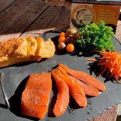 DAN FUMOIR Cold smoked Atlantic salmon 150g