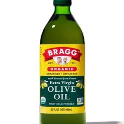 BRAGG Olive oil extra virgin organic 946ml