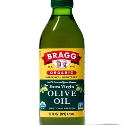 BRAGG Huile d'olive extra vierge organique 473ml