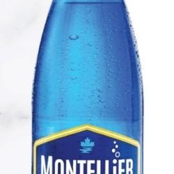 MONTELLIER Eau de source gazéifiée 1 L (4 saveurs)