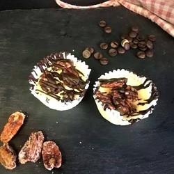 Caramelized pecan cheesecakes (2) 80g