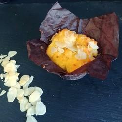 Muffins cœur amandine (2) 190g