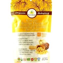 ECOIDEAS Pastilles de beurre de cacao 227g