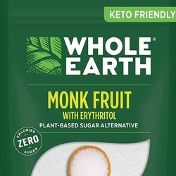 WHOLE EARTH Monk fruit and erythritol 235g