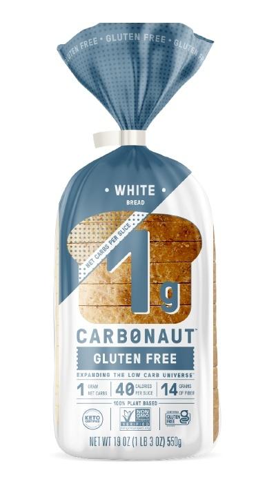 CARBONAUT White bread gluten free 550 g