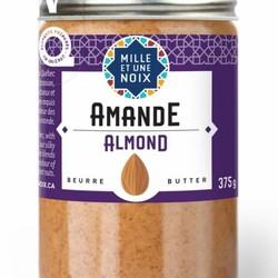 MILLE ET UNE NOIX Almond butter 375g
