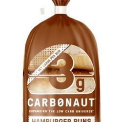 CARBONAUT Hamburger white buns (5) 325g
