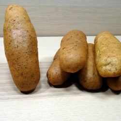 Brown hot dog bread (6)