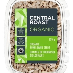 CENTRAL ROAST Graines de tournesol crues bio 325g
