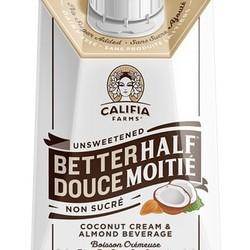 CALIFIA FARMS Better half coconut cream and almond milk 500ml