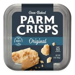 PARM CRISPS Parmesan cheese crackers 85g