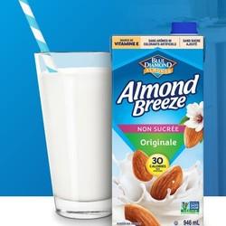 ALMOND BREEZE Original unsweetened almond milk 946ml
