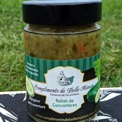 COMPLIMENTS DE BELLE-MAMAN Cucumber Relish