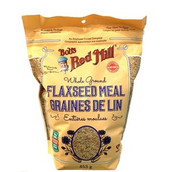 BOB'S RED MILL Whole ground flaxseed meal 453g