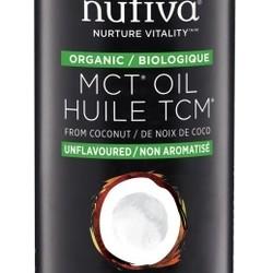 NUTIVA Huile TCM de noix de coco biologique 946 ml
