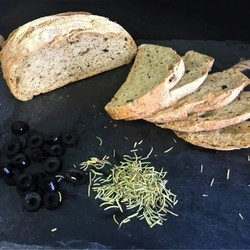 MISS MARIE Olive and rosemary bread 250g