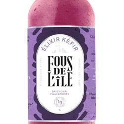 FOUS DE L'ÎLE Kefir berries and chaï 1L