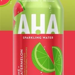 AHA Sparkling water 4 flavors (12 x 355 ml)