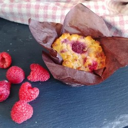 MISS MARIE Raspberry muffins (2) 190g