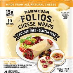 FOLIO Parmesan cheese wraps (10) 425g