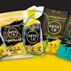 KETO 1.0 Pain tranchés 545 g