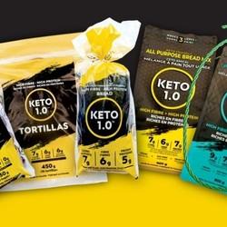 KETO 1.0 Mélange à pâtisserie et à crêpes 900g