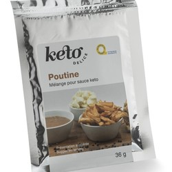 KETO DELICE Poutine sauce mix 36g