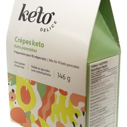 KETO DELICE Pancake mix 146g