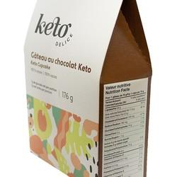 KETO DELICE Chocolat cake mix 176g