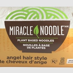 MIRACLE NOODLE Plant based noodles ready to eat 200g