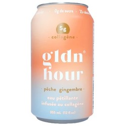 GLDN HOUR Collagen infused sparkling water 355ml