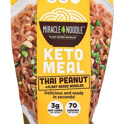 MIRACLE NOODLE KETO Vegetable keto noodle meal (3 flavors) 261g