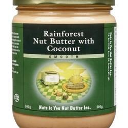NUTS TO YOU Beurre de noix de la forêt tropicale et noix de coco 500g