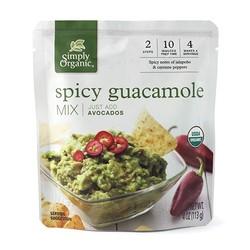 SIMPLY ORGANIC Guacamole mix 113g