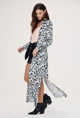 David Lerner Lola Safari Maxi Shirt Dress