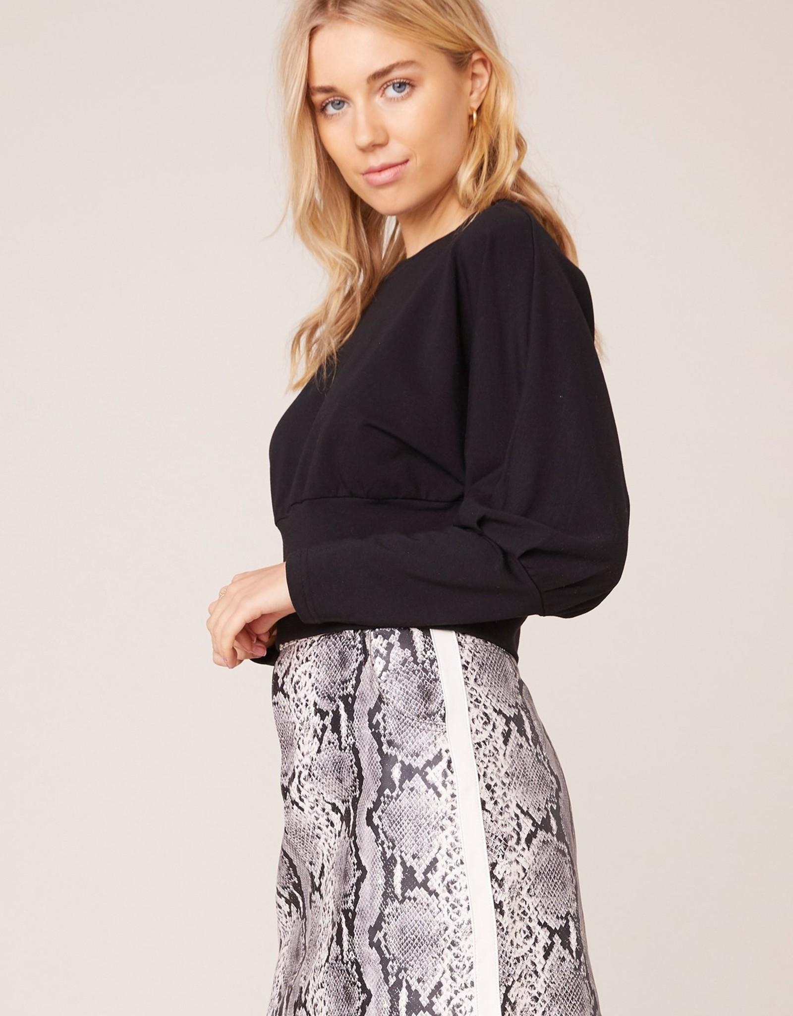BB Dakota Python The Prowl Vegan Leather Skirt