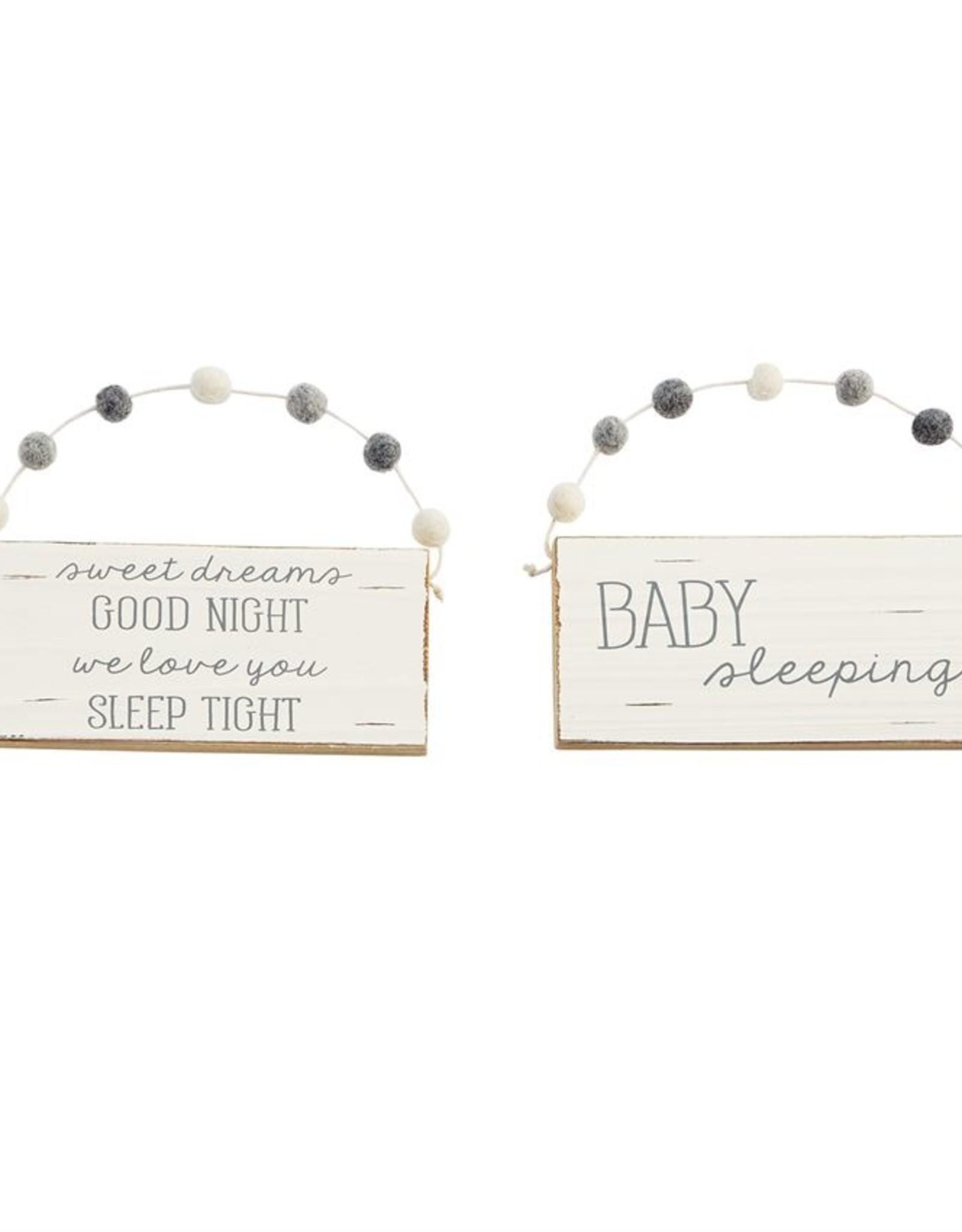Baby Door Hangers