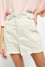 Free People Alpha Utility Mini Skirt