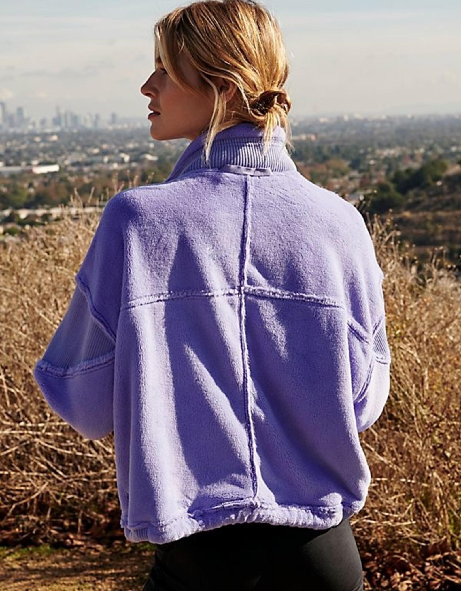 Free People Seeing Stars Fleece Jacket