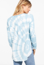 Z Supply VNeck Spiral Tie-Dye Weekender