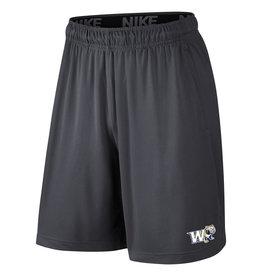 Nike Grey Fly W Full Dog Shorts