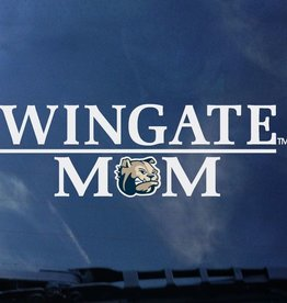 Color Shock Wingate Over Mom Dog Head O Decal