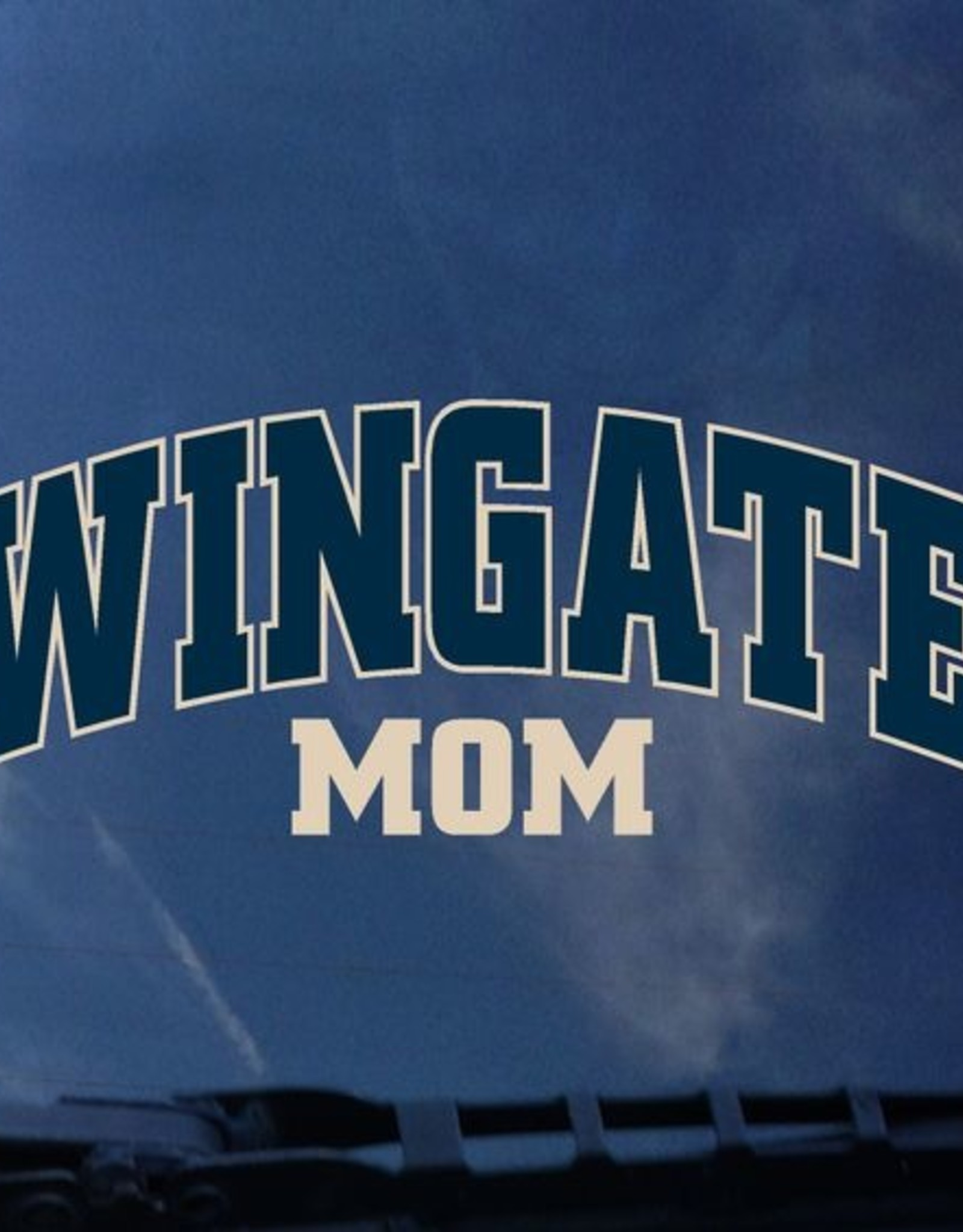 Color Shock Wingate Over Mom Decal