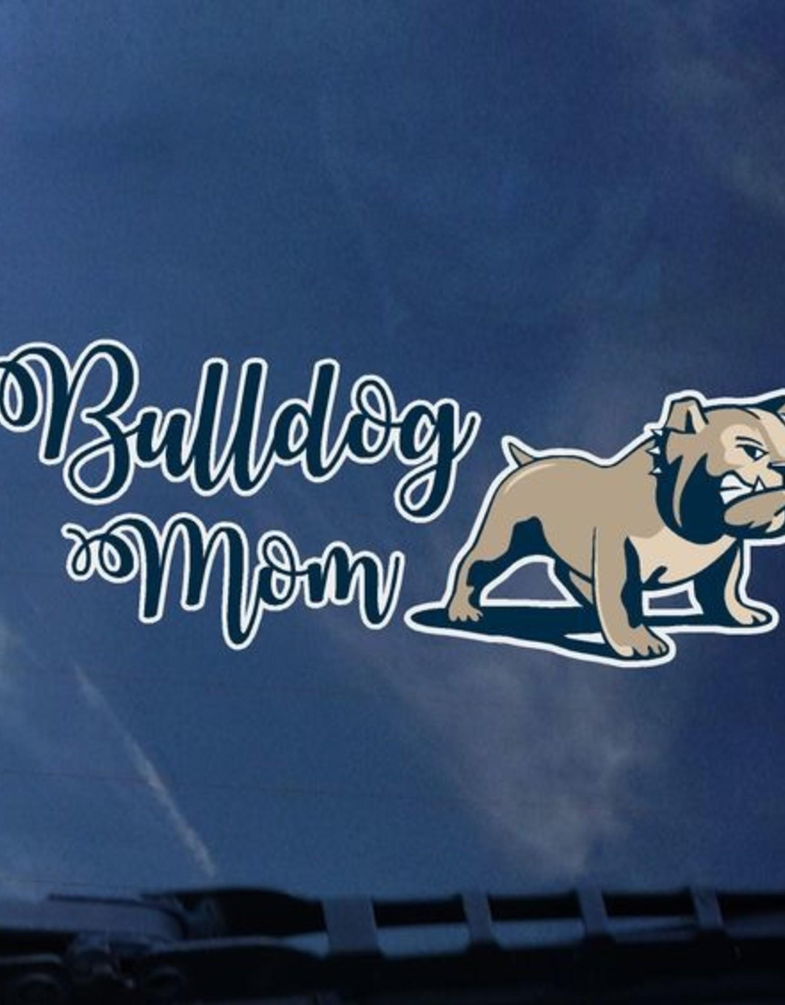 Color Shock Bulldog Mom Full Dog Decal