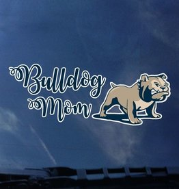 Color Shock Bulldog Mom Full Dog Decal