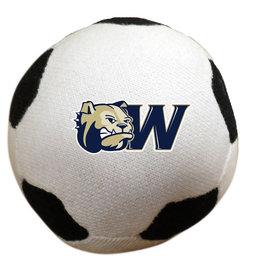 """3"""" Stuffed Soccer Ball"""