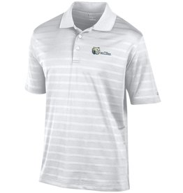 Champion White Textured Bulldog Head Polo