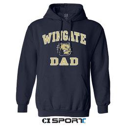 Gildan Navy Dad Hoodie