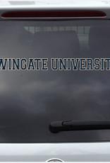 """Color Shock 15.5"""" x 1.5"""" Wingate University Decal Color Shock"""